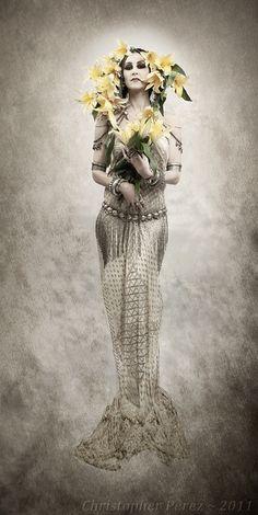 All sizes | Rachel Brice ~ Art Nouveau, via Flickr.