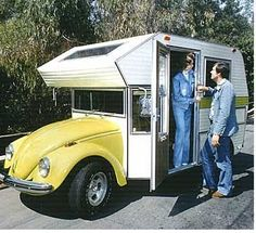 mini motorhome | Retro Motorhoming - the RV from VW Bug Chassis