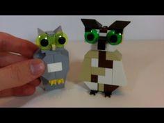 How To Build 2 LEGO Owls