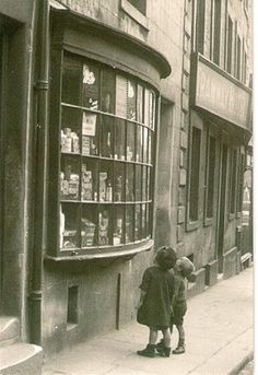 The Postal Picture: Window Shopping in Lancaster, Lancashire, UK - 1927