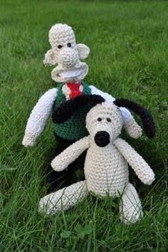 Wallace And Gromit Knitting Pattern : FREE WALLACE AND GROMIT KNITTING PATTERNS - VERY SIMPLE FREE KNITTING PATTERNS