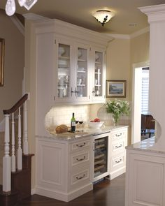 Traditional French Butler's Pantry