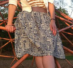 Versatile Voluminous Skirt   AllFreeSewing.com