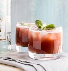 Watermelon Rum Punch | KitchenDaily.com