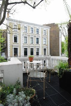 London patio