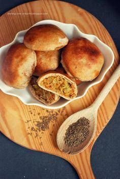 Moje Dietetyczne Fanaberie: Pełnoziarniste, pszenno - żytnie kapuśniaczki