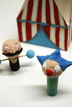 Small circus. #LaurensHope #Crafts #Kids #Projects #Activities