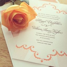 Analina wedding invitation by Hello Tenfold for Bella Figura - on sale for the month of April