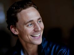 Tom Hiddleston has the best smile