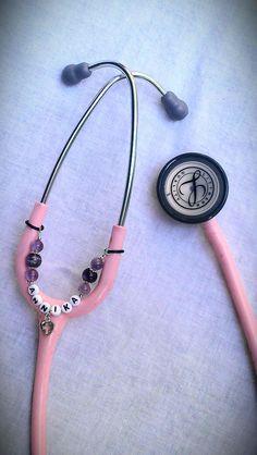 Personalized Stethoscope Charm