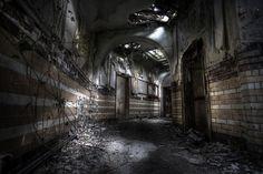 . haunt asylum, denbigh asylum, abandon place, abandon asylum