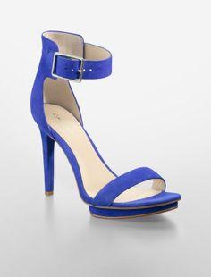 CK - Vivian Platform Strap Sandal