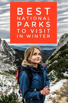 "Now is the best time to plan a winter trip to these National Park. <a class=""pintag searchlink"" data-query=""%23NPS100"" data-type=""hashtag"" href=""/search/?q=%23NPS100&rs=hashtag"" rel=""nofollow"" title=""#NPS100 search Pinterest"">#NPS100</a>???"