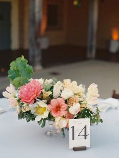 #table-numbers, #calla-lily, #peony, #centerpiece  Photography: lane Dittoe fine art wedding photographs - lanedittoe.com  Read More: http://www.stylemepretty.com/2013/08/08/santa-barbara-wedding-from-lane-dittoe-fine-art-wedding-photographs/