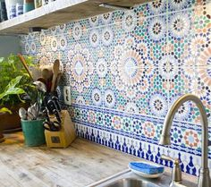 Kitchen - Baldosas de colores