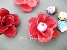 Tutorial: Forminhas para docinhos com flores artificiais