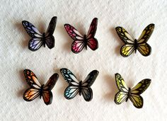 butterfli, paint cake, cake decorations, cake airbrush