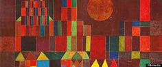 Paul Klee's Birthday 18 December. Take a line for a walk today.