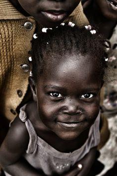 little children, precious children, black hair, beauti soul, beauti child, africa, smile child, kid, eye