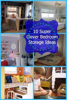decor, bedroom storage, bedroom idea, organ, clever bedroom, storag idea, 10 bedroom, bedrooms, storage ideas