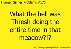 Hunger Games Problems #176