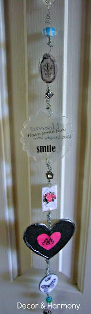 Decor & Harmony: Mod Podge ~ Podgeable Door Knob Charm