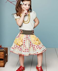 Matilda Jane skirt...Ava's pick!