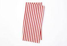 S/4 Versailles Stripe Napkins, Red on OneKingsLane.com