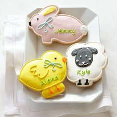 Easter cookies WilliamsSonoma