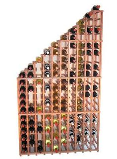 WineRacks.com Advantage Series Waterfall Style Individual Bottle Rack. Starting at: $325.00