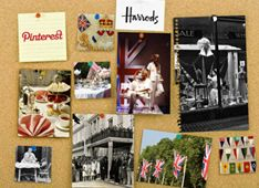 #PromotionExamples @Harrods launches Pinterest competition. Users had to create a mood board which would then become a 'Harrods window display by the store's award-winning Visual Merchandising team.' Integrated with other social channels as they had to tweet the board using a hashtag to enter. Facebook was used to get public votes.