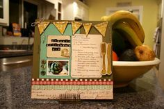Cute recipe layout