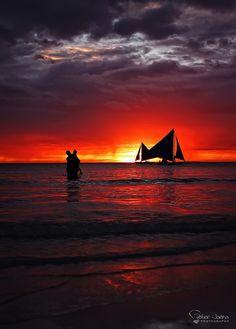 Boracay Sunset. Philippines