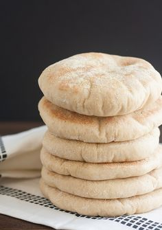 Whole Wheat Pita Bread by Traceys Culinary Adventures