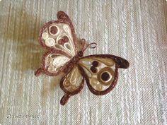 make a butterfly (Russian tutorial)