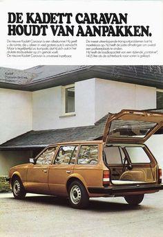 Kadett (D) Caravan (1980) / Opel / Merken index   Mijnautobrochures.jouwweb.nl