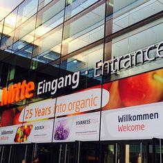 #Biofach in #Nürnberg. DIE Messe für #Wellness #Kosmetik #Beauty und alles in #Bio