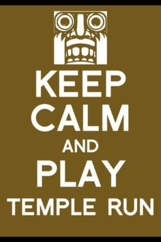..play temple run
