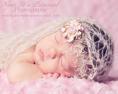 Knitting PATTERN Easy Knit Lacy Baby Wrap Blanket Cocoon & Flower Headband PDF 241 - Photography Prop