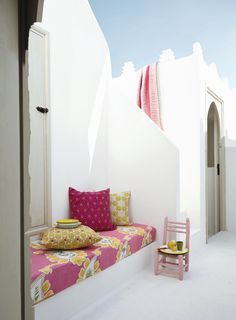 Pretty little #Moroccan outdoor seating area. Rather Moorish (House and Garden)