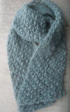 Blackberry Stitch Scarf by sowhynot