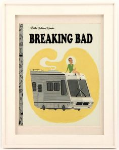 Breaking Bad as a Little Golden book.