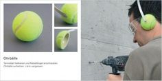Reutilizando pelotas de tenis
