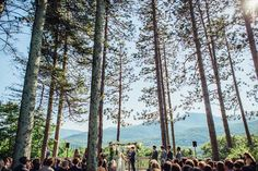 Gorgeous backdrop for a Catskill Mountain wedding!