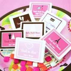 Unique Bridal Shower Games. Because everyone I know is getting married...