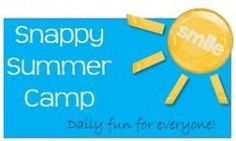 Snappy Summer Camp on Snappy Tots - crochet, crafts, food, and giveaways throughout July