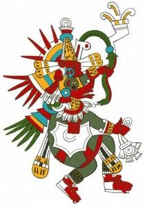 Kukulcan, the Snake God of the Mayans