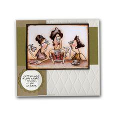 Girlfriends Getting Old Coffee Card