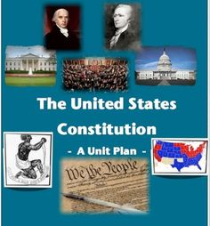 The United States Constitution - A Unit Plan!  10 highly-engaging and interactive lessons to teach the failure of the Articles of Confederation, the new Constitution, the Bill of Rights, How Bills become Laws (awesome activity!), and The Electoral College!