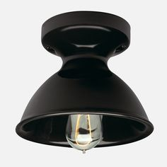 Alabax Surface Mount Light Fixture | Schoolhouse Electric & Supply Co. (restrooms)